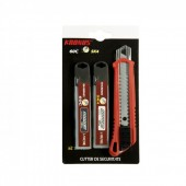 Cutter KRONUS 160 mm + Set 10 lame schimb pentru cutter C60 + Set 10 lame schimb pentru cutter SK4 7556/12AS