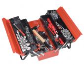 Trusa scule mecanici auto 133 piese, in cutie metalica 7914/5ak1