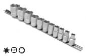 Set capete chei tubulare 6 laturi 6-18 mm/13 piese cu sina 3/8 7238H6P13